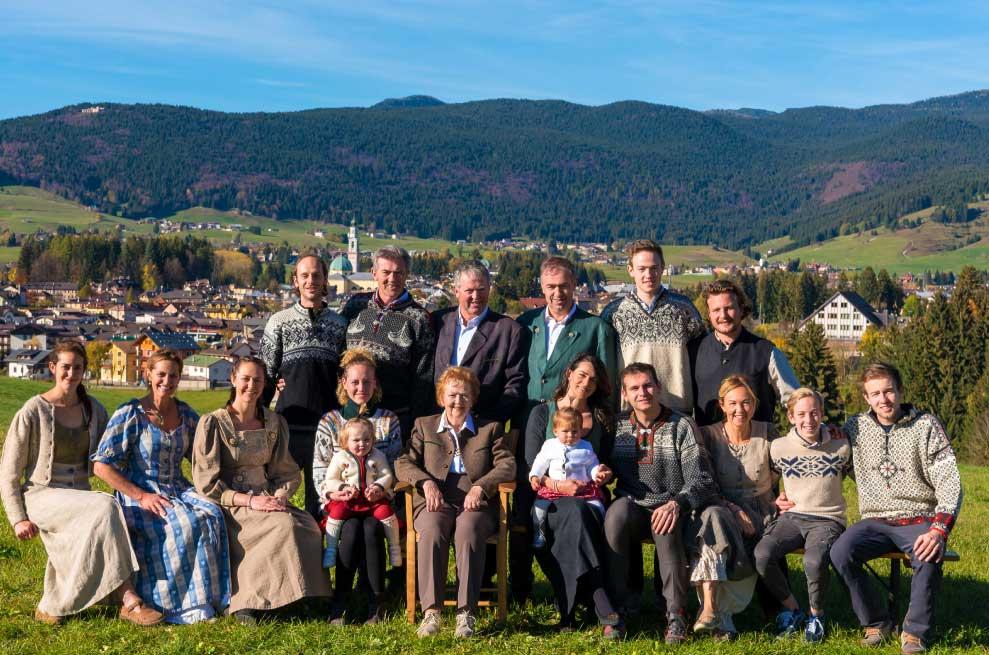 Famiglia Paganin - Maestri di Sci